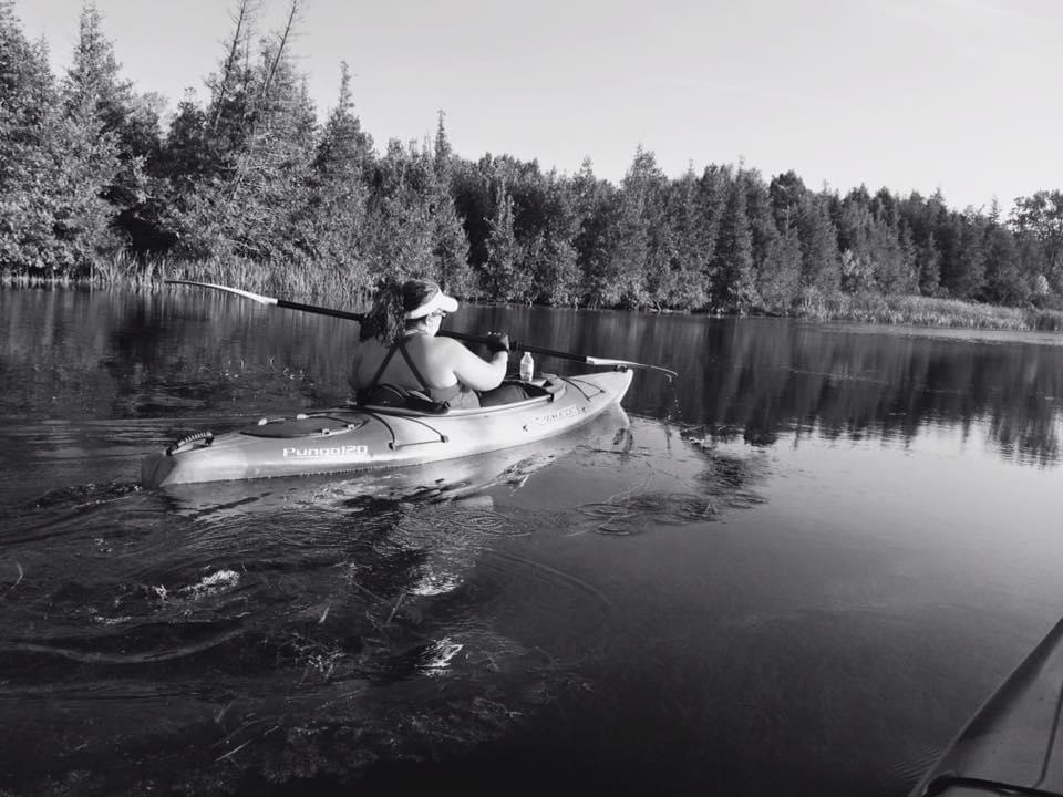 Lori Glenn Kayaking